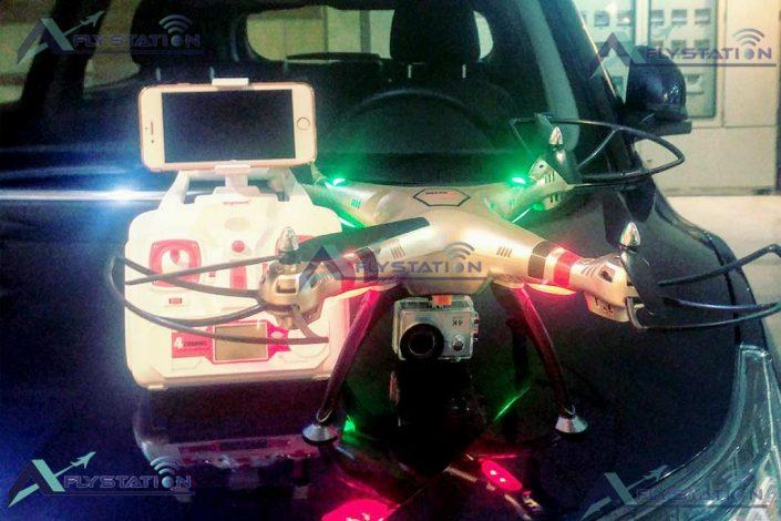 کوادکوپتر دوربین دار Syma X8HW