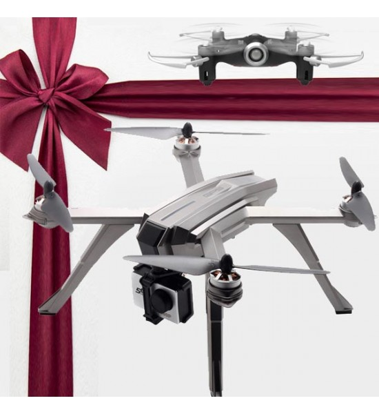 کوادکوپتر دوربین دار mjx Bugs 3 Pro دارای GPS + همراه با هدیه وِیژه