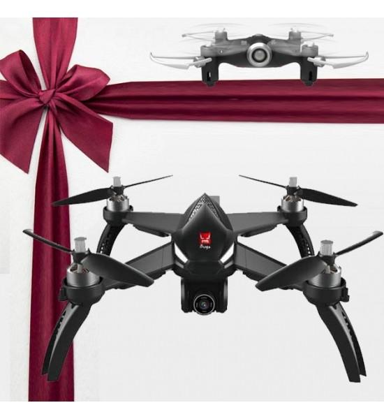 کوادکوپتر دوربین دار mjx Bugs 5w دارای GPS + همراه با هدیه ویژه