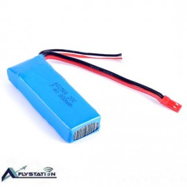 باتری لیتیوم پلیمر 7.4 ولت 800mAh 20C