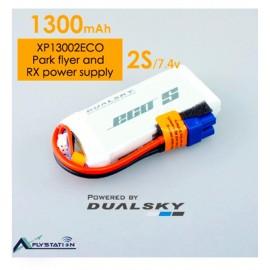 باتری لیتیوم پلیمر dualsky XP13002ECO دو سل 1300mAh