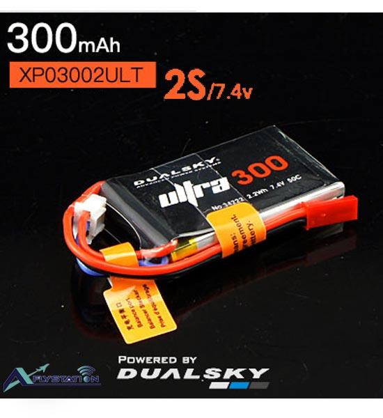 باتری لیتیوم پلیمر dualsky XP03002ULT دو سل 300mAh