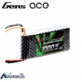 باتری لیتیوم پلیمر 7.4 ولت 1000mAh 25c برند Gens Ace