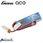 باتری لیتیوم پلیمر Gens Ace 25C دو سل 1800mAh