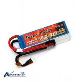 باتری لیتیوم پلیمر 14.8 ولت 2200mAh 30c برند gens ace