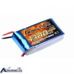 باتری لیتیوم پلیمر 7.4 ولت 1300 میلیآمپر (gens ace)