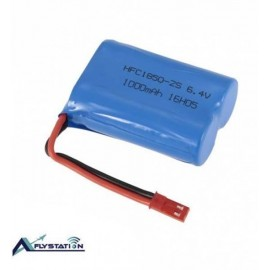 باتری لیتیوم یونی 6.4 ولت 1000mAh برند wltoys