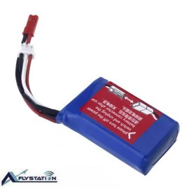 باتری لیتیوم پلیمر 7.4 ولت 1500 میلیآمپر (wltoys)