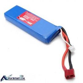 باتری لیتیوم پلیمر 7.4 ولت 2200 میلیآمپر (wltoys)