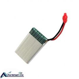 باتری لیتیوم پلیمر 3.7 ولت 1100 میلیآمپر