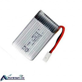 باتری لیتیوم پلیمر 3.7 ولت 600 میلیآمپر (سری 5-سوکت سفید)