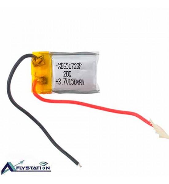 باتری لیتیوم پلیمر 3.7 ولت 150 میلیآمپر (ویژه هلیکوپترهای سایما)