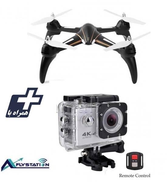کواد کوپتر wltoys Q393 + دوربین ورزشی UltraHD Sport