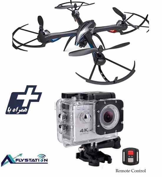 کوادکوپتر I8H + دوربین ورزشی UltraHD Sport
