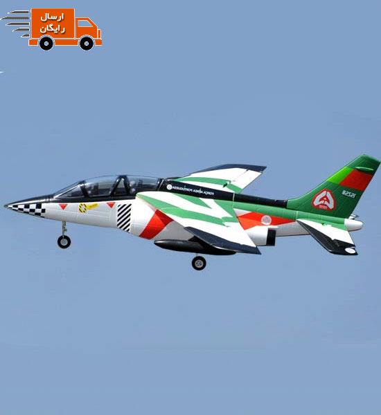 هواپیمای جت کنترلی Alpha jet 70mm ساخت شرکت FMS