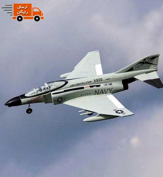 کیت بدنه هواپیمای جت F_4 Phantom ساخت شرکت FMS