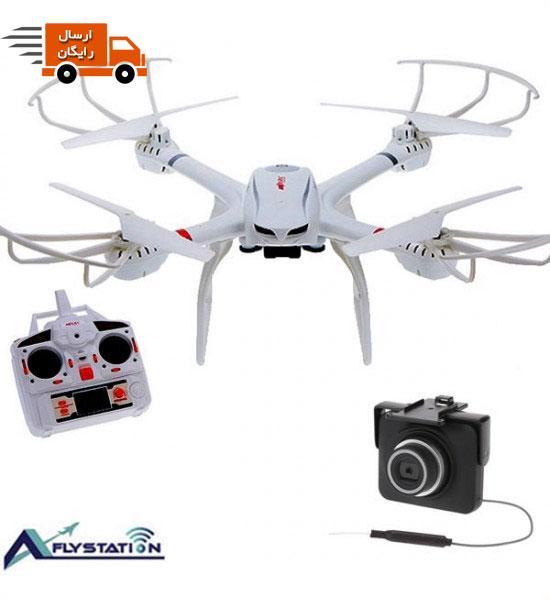 کوادکوپتر MJX X101 همراه با دوربین MJX C4018