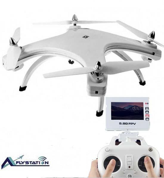 کواد کوپتر دوربین دار W606-5 همراه با گیمبال