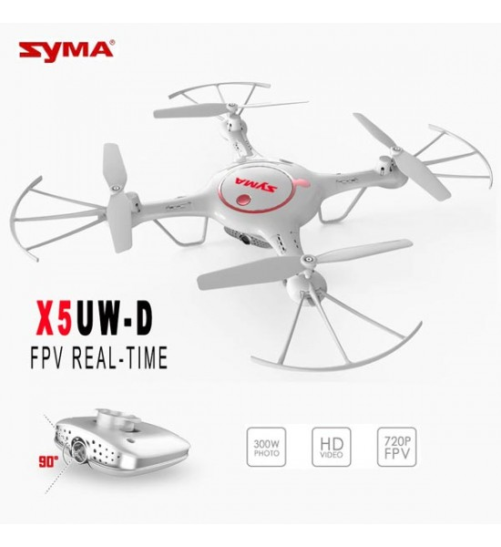 کوادکوپتر دوربین دار syma X5UW-D با ارسال زنده تصویر