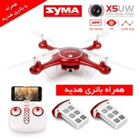 کوادکوپتر دوربین دار syma X5UW با باتری هدیه