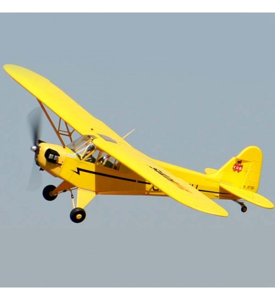 هواپیمای مدل  Piper J3 Cub 1400mm ساخت شرکت FMS