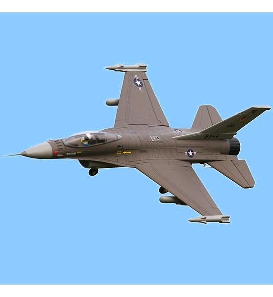 کیت بدنه هواپیمای جت F_16 fighter V2 ساخت شرکت FMS