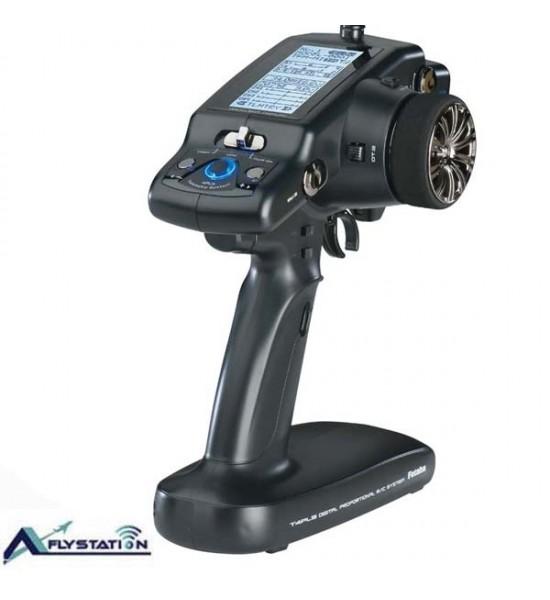 رادیوکنترل  فوتابا 4PLS (با دو ریسیور همراه با تلمتری) مخصوص ماشین کنترلی