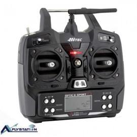 رادیو کنترل 6 کانال هایتک مدل Hitec optic 6 sport 2.4