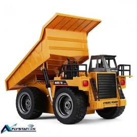 کامیون راه سازی کنترلی HuiNa 1540 RC Truck