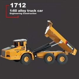ماکت فلزی کامیون راه سازی Huina 1712 مقیاس 1:50