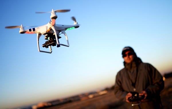 آموزش گام به گام پرواز با کواد کوپتر