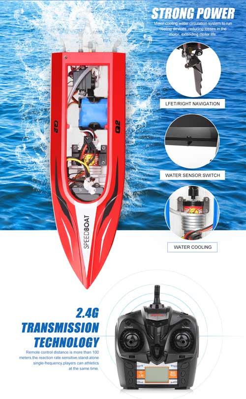 خرید قایق کنترلی سایما syma Q2