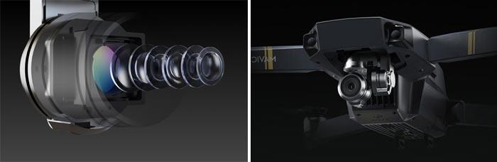 بدون شک تمام این ویژگیها اگر یک دوربین خوب و مناسب در کار نباشد، بیهوده خواهد بود. مویک دارای یک دوربین 12 مگاپیکسلی است که توانایی ثبت تصاویر با کیفیت 4K و ویدیو با 30 فریم بر ثانیه به کاربر میدهد. از طرفی گیمبال سه محوره این دوربین هر اعوجاج و لرزشی را از تصاویر کاملا حذف میکند.