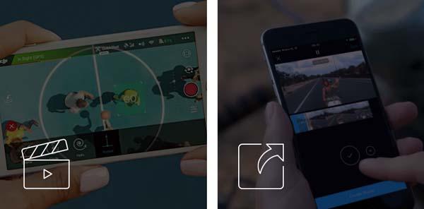 مدهای پروازی کوادکوپتر spark به شما کمک میکند تا آن را به راحتی و با کمترین انرژی و به زیباترین شکل هدایت کرده و فوق العادهترین تصاویر هوایی را ثبت کنید. پس از آن می توانید با استفاده از نرم افزار DJI GO 4 عکس های خود را ویرایش کرده و در شبکه های مجازی با دوستانتان به اشتراک بگذارید.