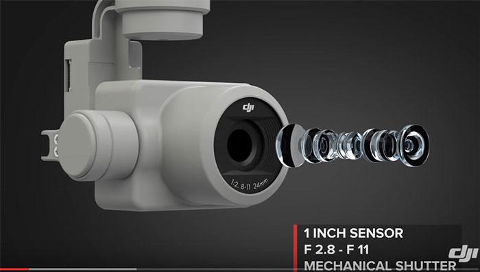 پهپاد یا کوادکوپتر دوربین دار فانتوم 4 پرو  ساخت DJI