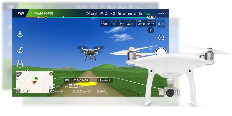 GPS پهپاد یا کوادکوپتر دوربین دار فانتوم 3