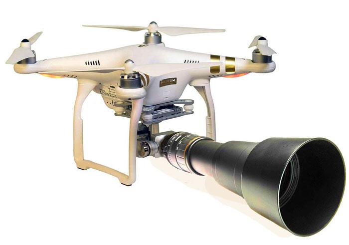 دوربین با کیفیت 4K پهپاد یا کوادکوپتر دوربین دار فانتوم 3