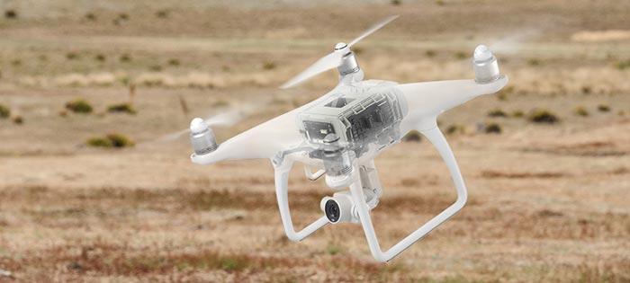 پرواز آسان پهپاد یا کوادکوپتر دوربین دار فانتوم 4