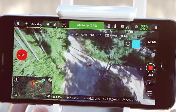 GPS پهپاد یا کوادکوپتر دوربین دار فانتوم 4