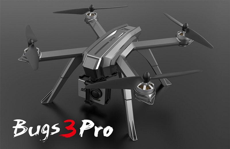کوادکوپتر دوربین دار mjx Bugs 3 Pro دارای GPS