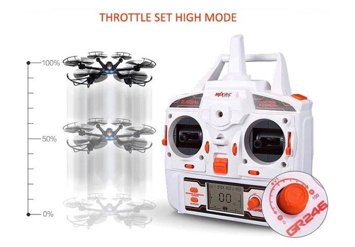 هگزاکوپتر MJX X600 همراه با دوربین C4015