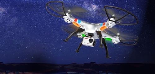 چراغ پهپاد یا کوادکوپتر دوربین دار Syma X8G