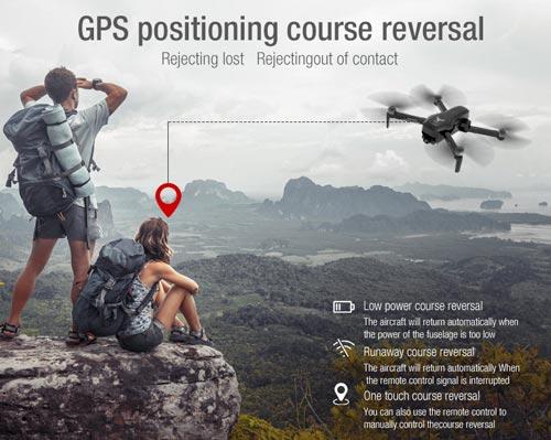 کوادکوپتر حرفه ای ZLRC SG906 pro2 با GPS و گیمبال سه محوره
