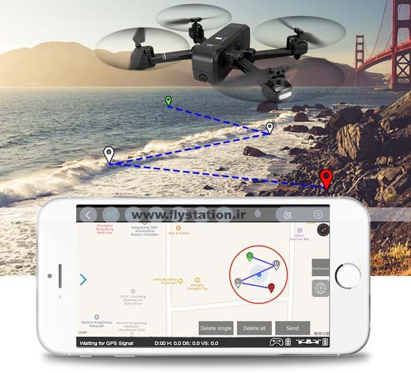 خرید هلی شات کوادکوپتر حرفه ای sj z5 با GPS و follow me