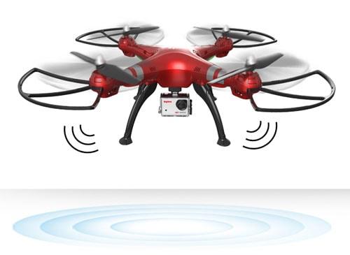 قابلیت شناوری پهپاد یا کوادکوپتر دوربین دار سایما X8HG