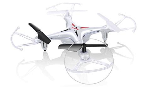 کوادکوپتر syma x13 دارای نوآوری خاصی از تکنولوژی پرواز است که به شما امکان می دهد آن را در هر مکانی که دوست دارید، به پرواز در آورید. از طرفی نیازی نیست نگران برخوردهای این پهپاد با موانع باشید، چون محافظ ملخ های آن از آسیب رسیدن به ملخ ها، موتورها و در نتیجه برد مرکزی کوادکوپتر شما جلوگیری می کند.