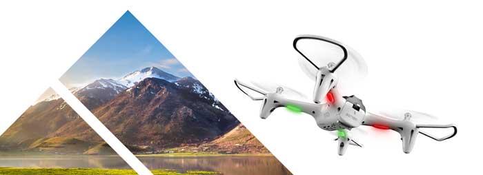 پرواز و فرود تنها با یک دکمه پهپاد یا کوادکوپتر سایما syma X15