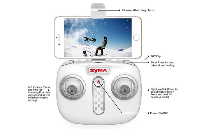 خرید کوادکوپتر دوربین دار سایما syma X15W   ایستگاه پرواز خرید پهپاد خرید پهباد