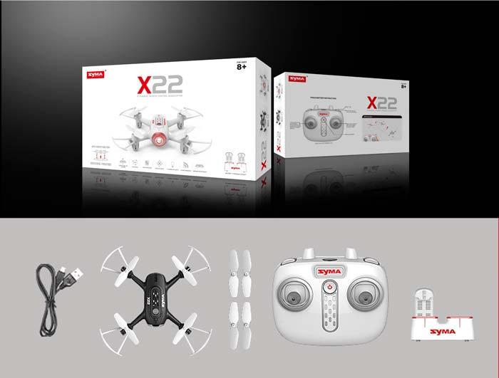 کوادکوپتر بدون دوربین سایما syma X22