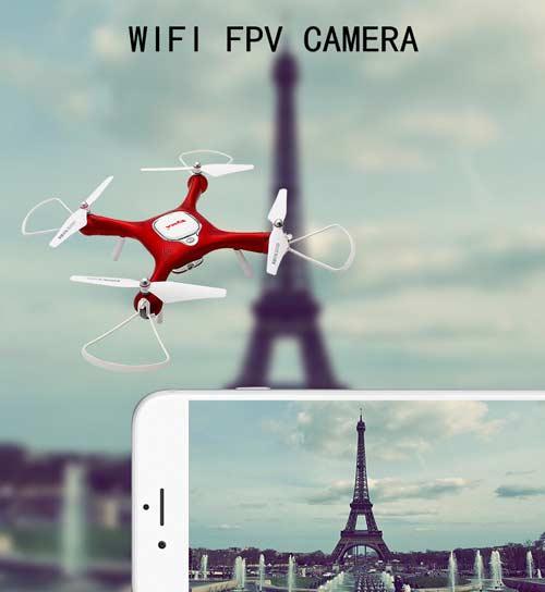 خرید کواد کوپتر دوربین دار syma X25W